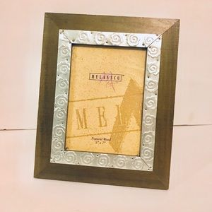 Sage Green Natural Wood 5x7 Frame